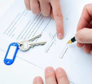 Income Property 101: Steps to Becoming a Landlord Agreement Image