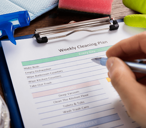 6 New Years Resolutions for Your Home Cleaning Plan Image