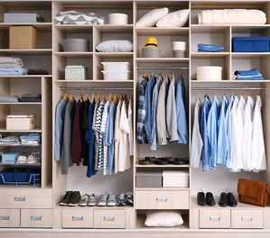 6 New Years Resolutions for Your Home Organized Closet Image