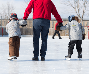 Winter Activities to Enjoy with Your Family Skating Image