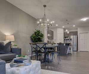 Tips for Finding the Right Floor Plan for Your First Home Great Room Image