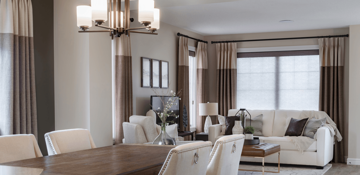 Home Design Recipe for an Elegant Look Great Room Image